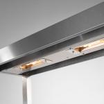 800 Series heated overshelf